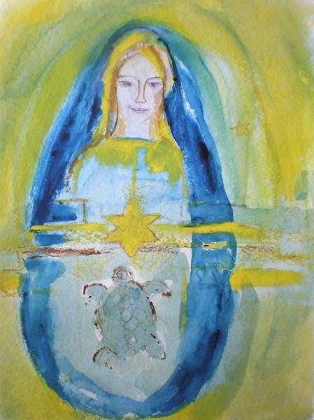 Heilige Madonna von Chartres
